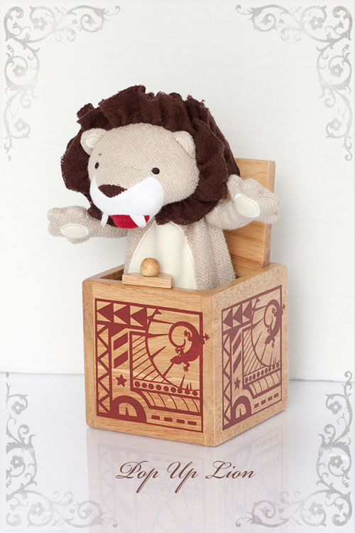 Jasper's Jungle Toy Collection Pop-up Lion