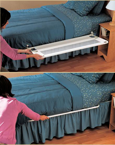 The Regalo Portable Bed Rail Ensures Maximum Safety For