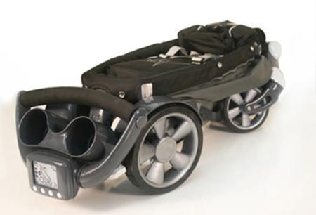 Power Foldable Origami Stroller