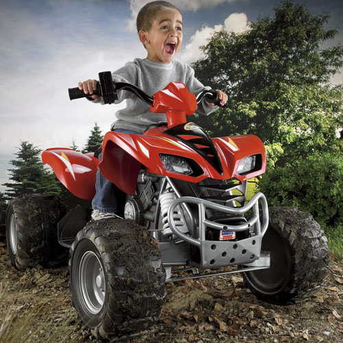 Power Wheels Kawasaki KFX with Monster Traction