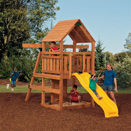 Genial Powerhouse Swing Set