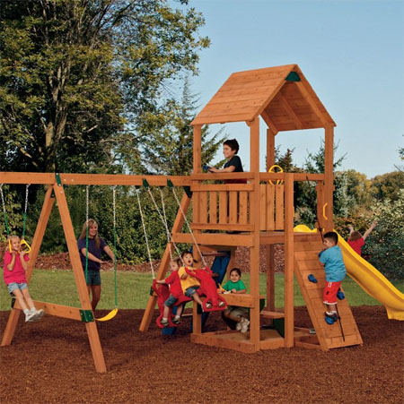 Lowes Swing Sets For Kids