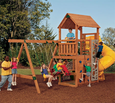 powerhouse swing set