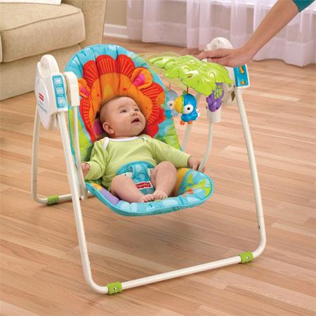 precious planet portable baby swing