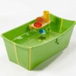 Prince Lionheart Flexibath Foldable Bathtub : Soft and Light Bathtub for Your Baby