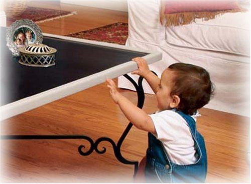 table edge guard. prince lionheart table edge guard with 4 corners e