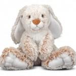 Melissa & Doug Princess Soft Toys Plush Burrow Bunny : Soft and Adorable Bunny to Hug at Night