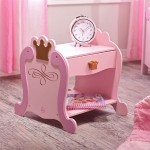 Princess Toddler Bedside Table Complements Any Nursery With Great Functionality