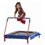 Pure Fun Kids 36-inch Preschool Jumper: Square Shaped Trampoline with Steel Frame