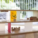Qubis Haus from Amy Whitworth Combines A Coffee Table and A Doll House