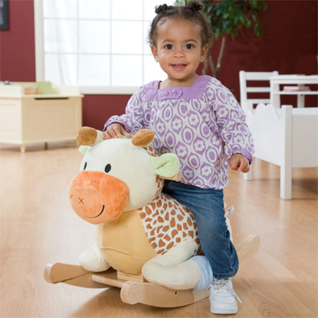Raffi Giraffe Rocking Animal Gives Ultimate Fun To Your Kids And Help Developing Their Knowledge