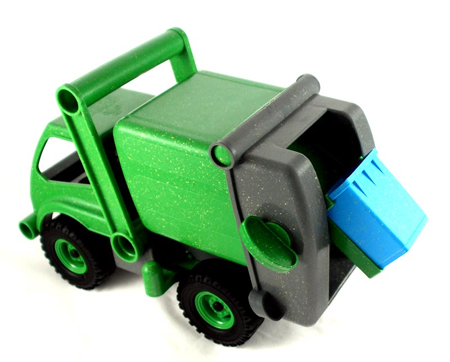 Recycling Truck Creates Eco-Awareness in Your Child
