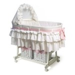 Rocking Bassinet Combines The Functionality Of A Comfortable Bassinet And A Soothing Cradle