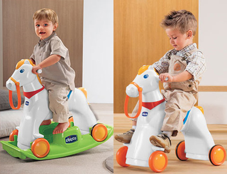 rodeo rocking horse
