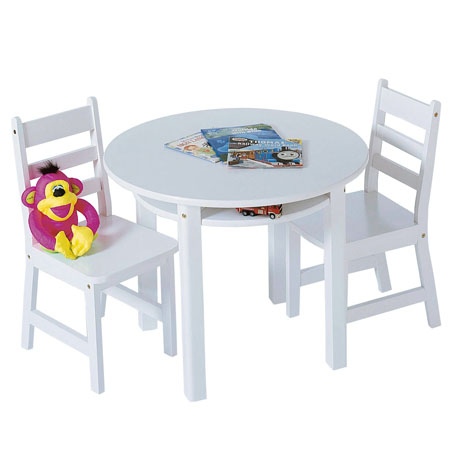 Nice Round Table And Chair Set