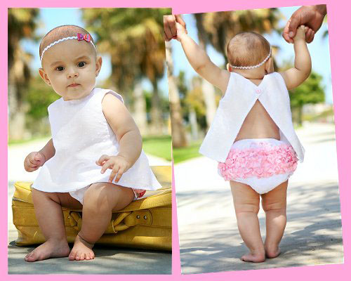 Cute and Adorable RuffleButt Panty or Diaper cover