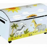 Cute Animal and Safari Toy Chest