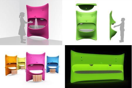 Safe and Functional Mons Washbasin for Your Kids