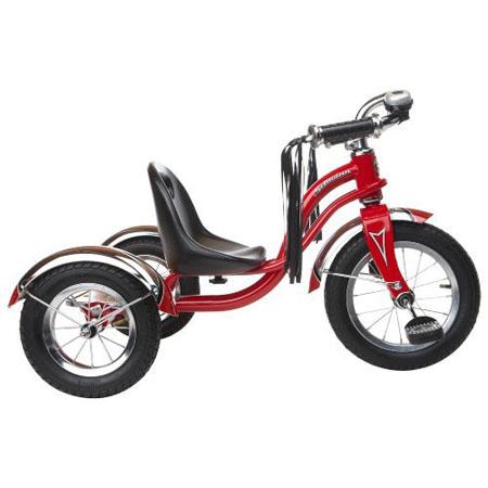 b9cf393f5bc Schwinn Roadster 12-Inch Retro-Modern Trike With Adjustable Seat ...