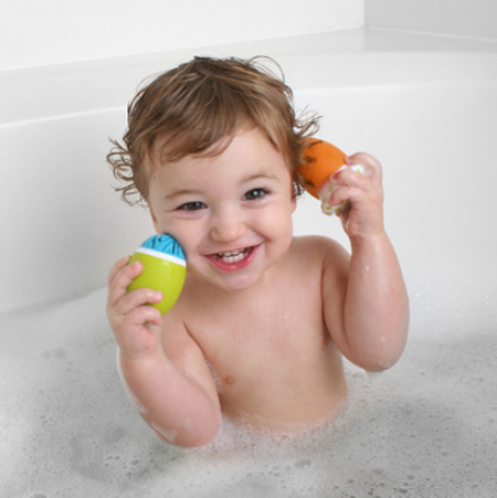 Scrubble Bath Toy Set : Babies Will Love This Playful Bath Toy Set