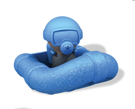 Scuba Diving Playset for a Perfect Bathtime