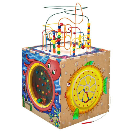 Anatex Sea Life Play Cube Activity Center
