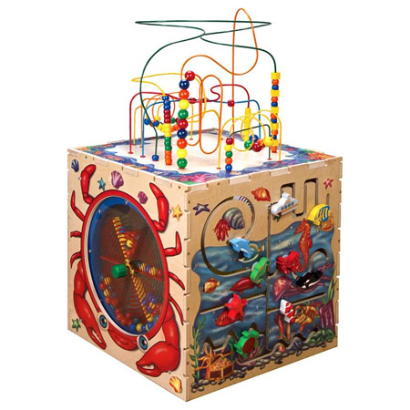 Sea Life Play Cube Activity Center