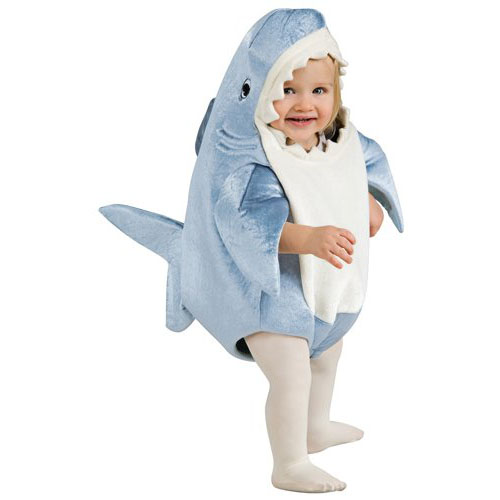 Rubie's Costume Deluxe Shark Romper Costume - Top 20 Baby and Toddler Halloween Costumes