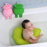 Shibaba Cushioned Baby Toddler Bath Seat Keeps Your Toddler Safe and Stable in the Bath Tub