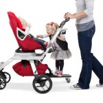 Toddlers Will Love Riding Along Side The Baby On Sidekick Stroller Board