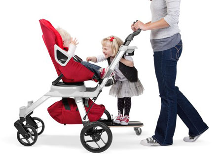 Toddlers Will Love Riding Along Side The Baby On Sidekick Stroller ...