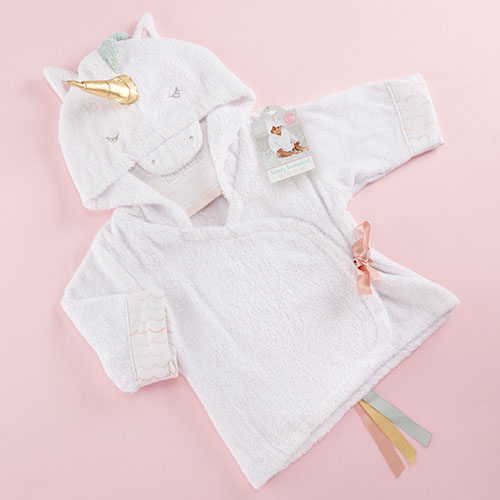 Cute Unicorn Hooded Robe to Keep Your Baby Warm and Dry