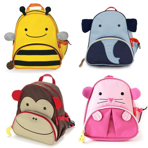 Skip Hop Zoo Pack Little Kid Backpack for Toddlers