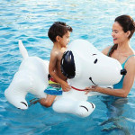 Cute Snoopy Ride on Float for a Pool Party