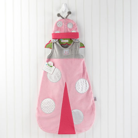 Snug As A Bug Ladybug Snuggle Sack