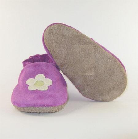 soft soled baby shoe
