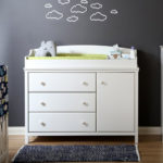 Modern South Shore Cotton Candy Changing Table Is A Dresser with Removable Changing Table