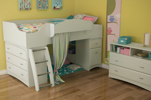South Shore Imagine Collection Twin Loft Bed Kit