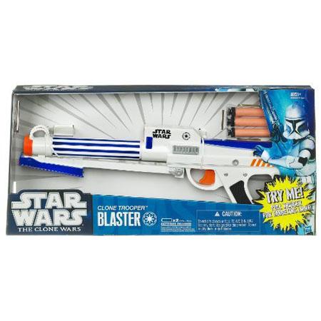 Star Wars Clone Wars Electronic Blaster Clone Trooper