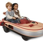 Star Wars Luke Skywalker's Landspeeder Ride-On Features Interactive Dashboard and Real Movie Sounds of Luke Skywalker