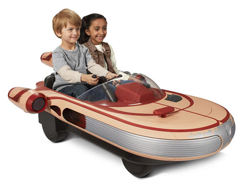 Star Wars Luke Skywalker's Landspeeder Ride-On
