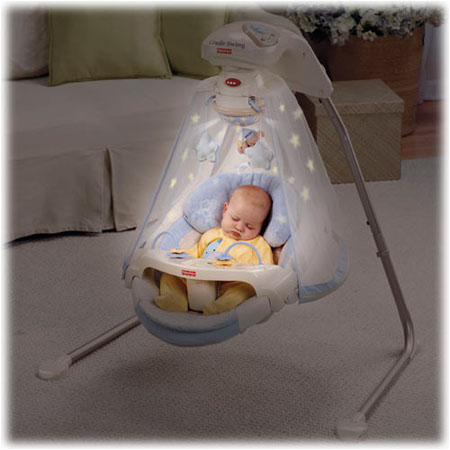 starlight cradle baby swing