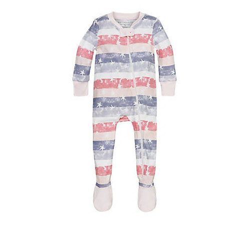 Cute Stars & Stripes Sleeper for Your Baby to Sleep in Comfort