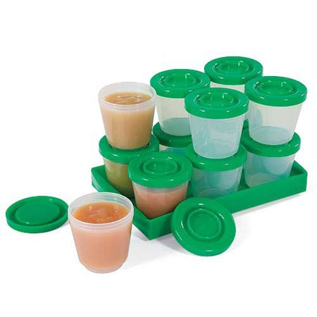 Stay-Fresh Baby Food Containers 12 Pack