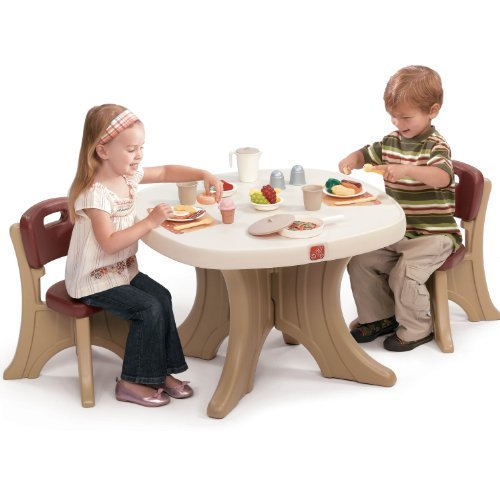 Step2 Table and Chairs Set  sc 1 st  Plioz & Modern Step2 Table and Chairs Set Offers Great Size Durability and ...