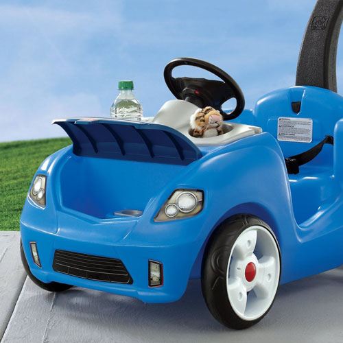 Step2 Whisper Ride 2 Buggy With More Spacious Area And