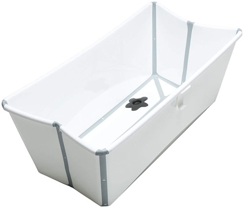 Stokke Flexi Bath - Foldable Little Bathtub for Traveling with a Baby