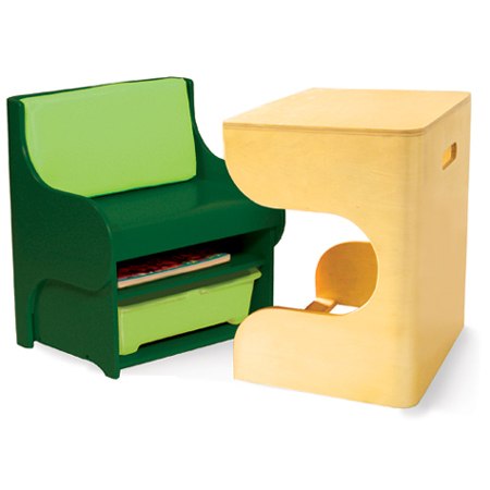 Stylish and Innovative Klick Desk Can Offer Functionality with Fun