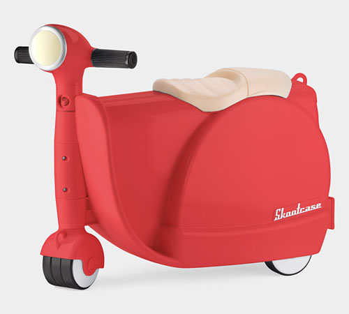 Modern Suitcase Skootcase for Children