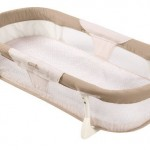 Summer Infant By Your Side Sleeper Portable Bedding Features Mesh Body, Fitted Sheet and Mattress Pad